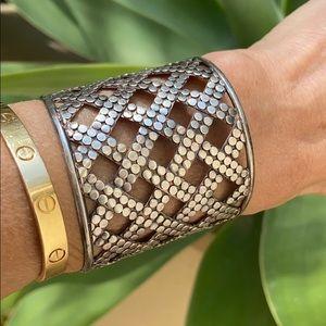 Anna Beck Sterling Silver Dot Cuff Bracelet